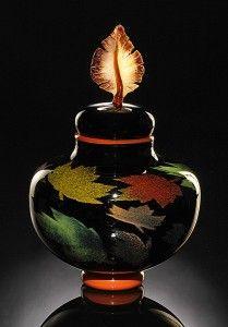 Autumn Foliage | Art Glass | Fall Colors by Bernard Katz #autumnfoliage