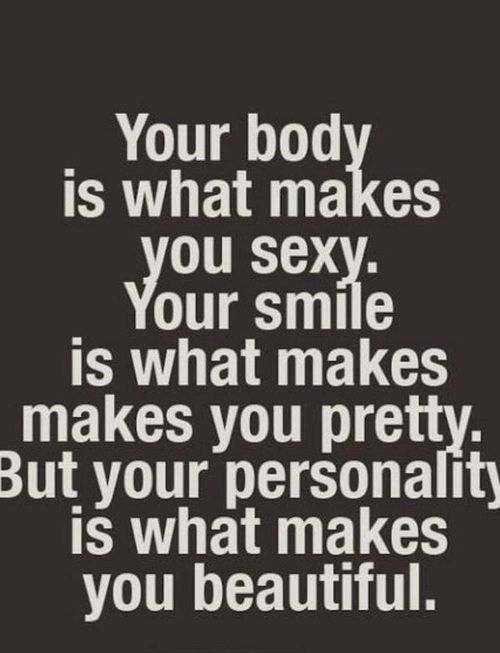 Be happy love your body