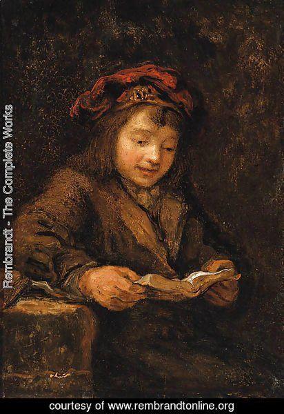rembrandt van rijn, titus leest | kind in 2019 - rembrandt