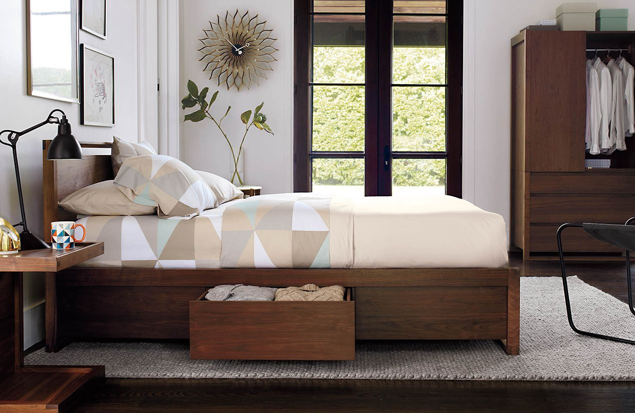 Design Within Reach Matera Bed With Storage Master