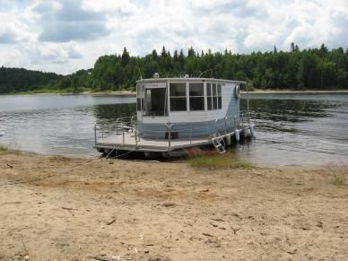 ponton artisanal bateau maison 1987 photo 1 bateau pinterest ponton bateaux et artisanales. Black Bedroom Furniture Sets. Home Design Ideas