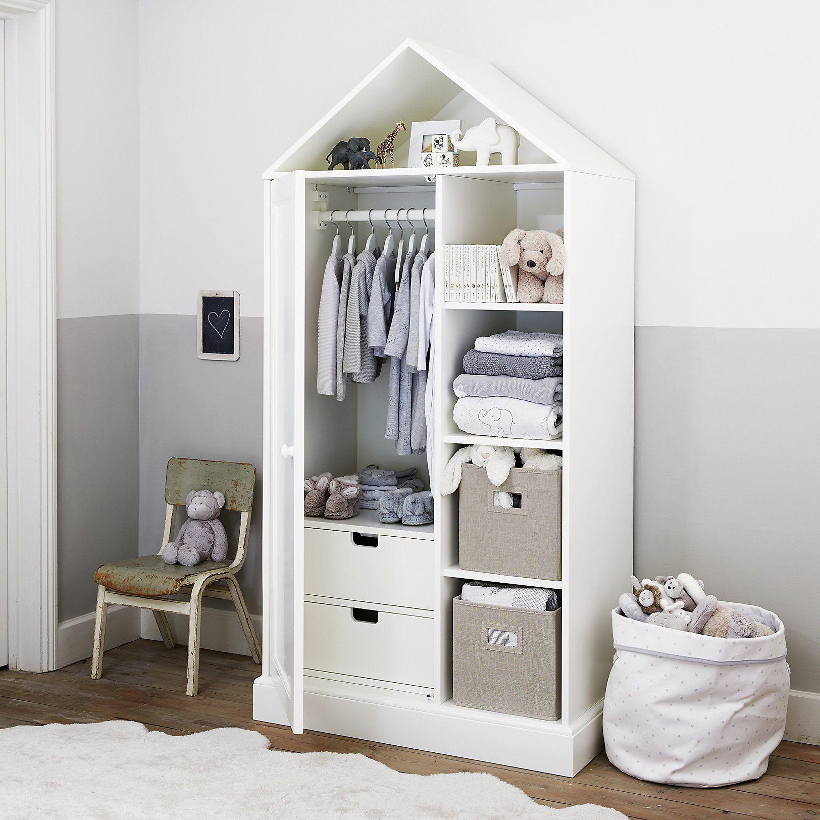Classic house wardrobe kids pinterest white company furniture