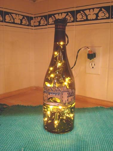 2c8d1c0e18 Narragansett Towers in winter wine bottle light. A popular venue for wedding  receptions by the