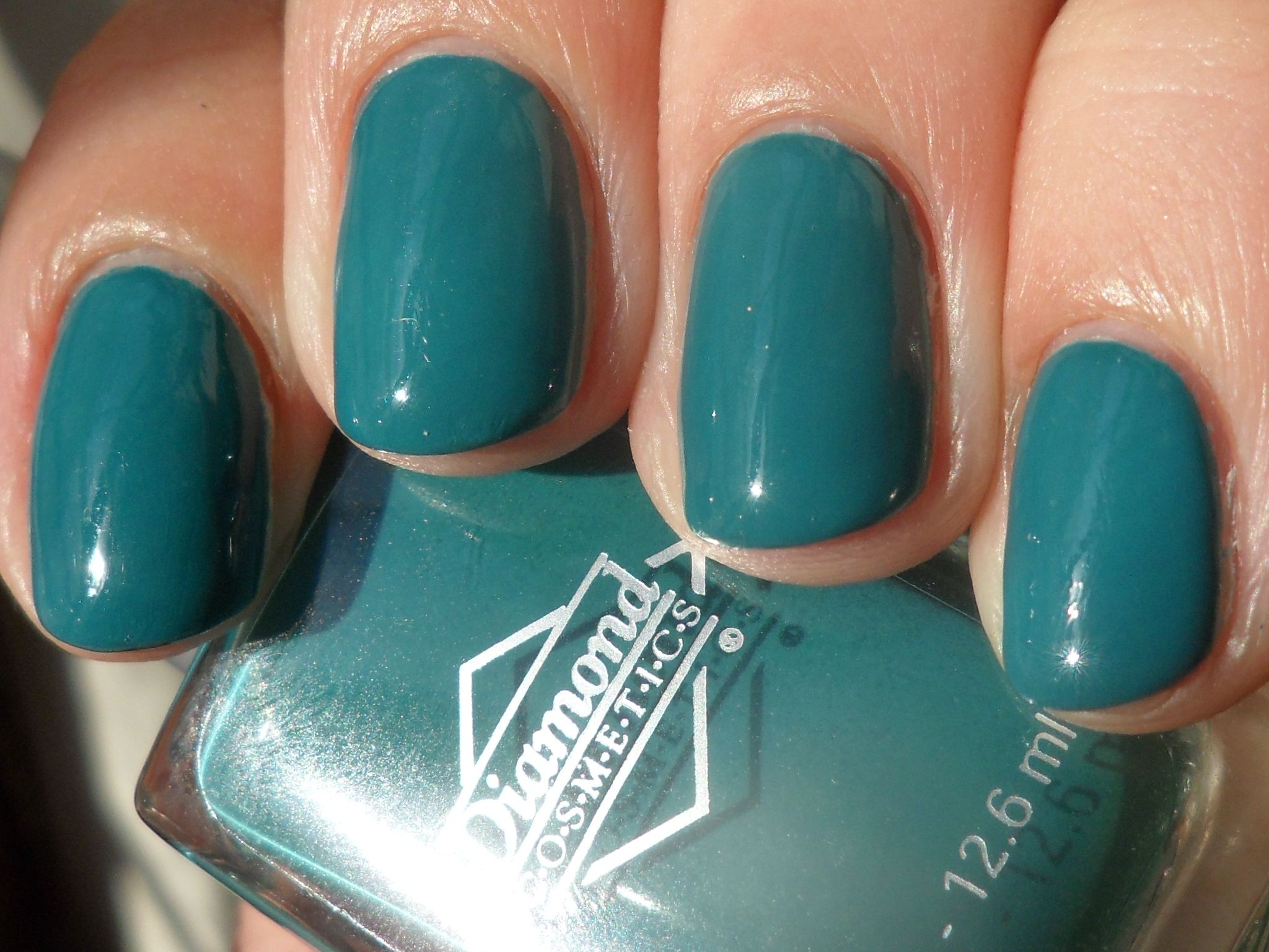Diamond Cosmetics - Don\'t Teal My Heart Away - ~1 mani | Swap Board ...