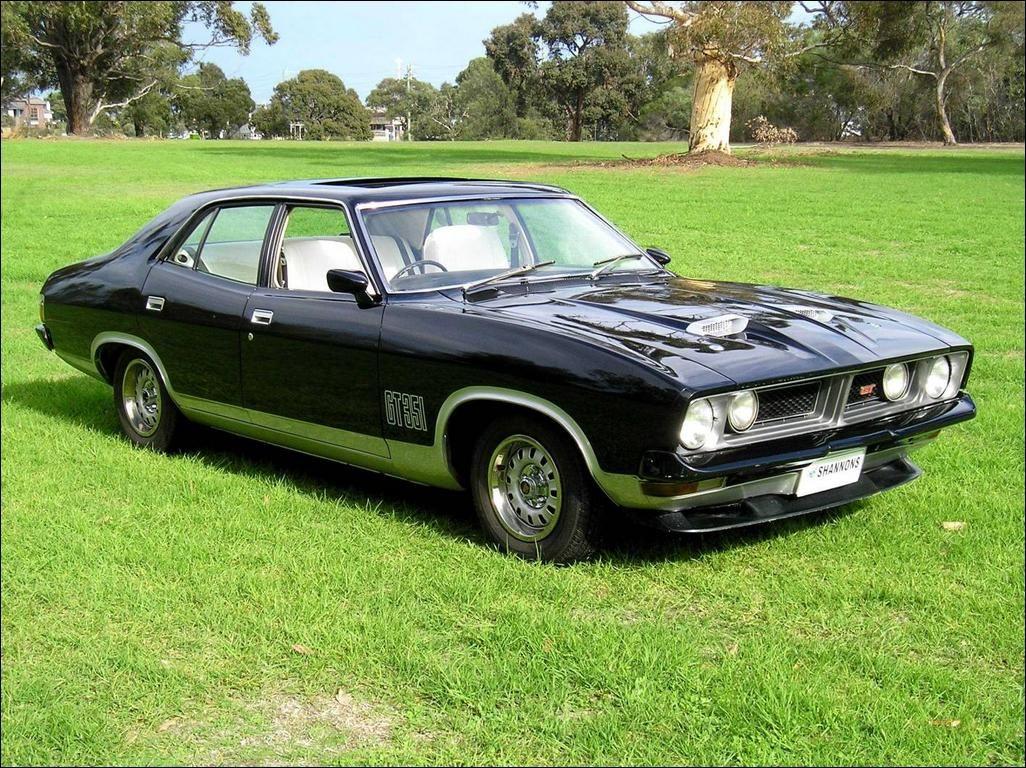 Xb Falcon Gt 4 Door Australian Muscle Cars Australian