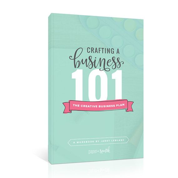 Crafting A Business Plan Workbook And ECourse By Paperandspark