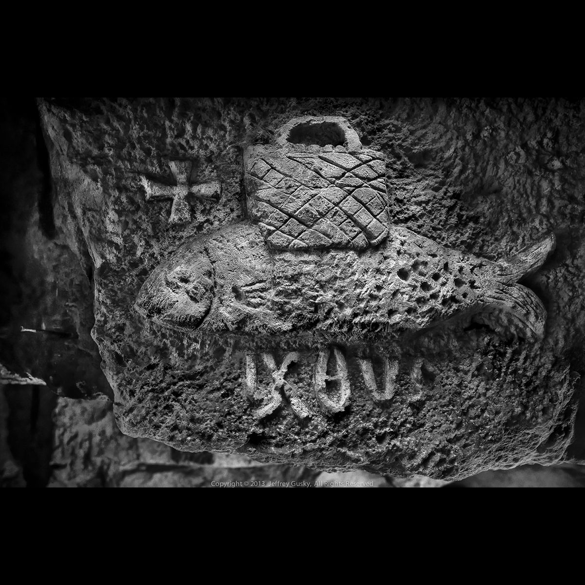 Hiddenwwi A Religious Symbol In A French Catholic Wwi Underground