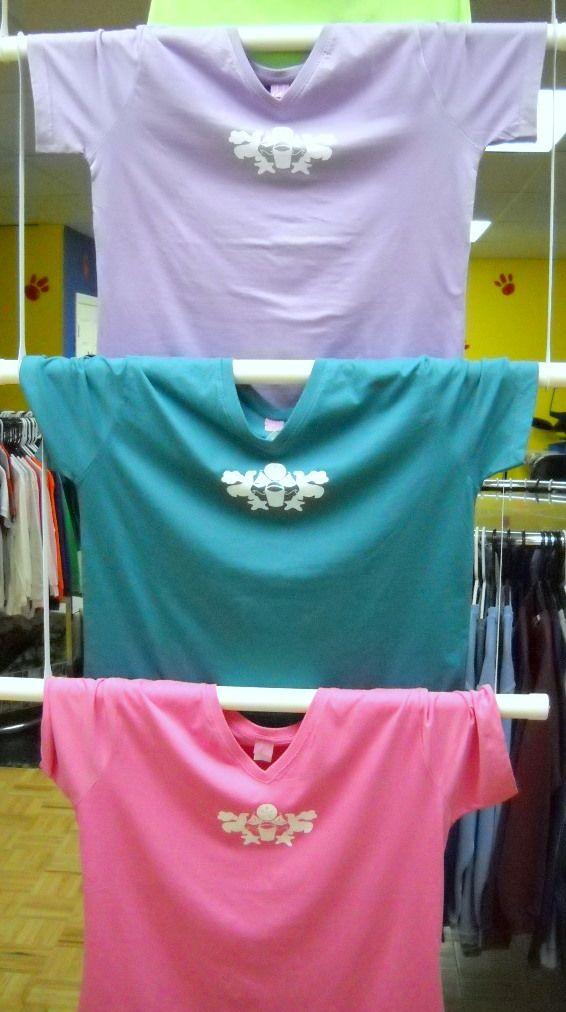 Handing T Shirt Display Diy Merchandising Craft Booth