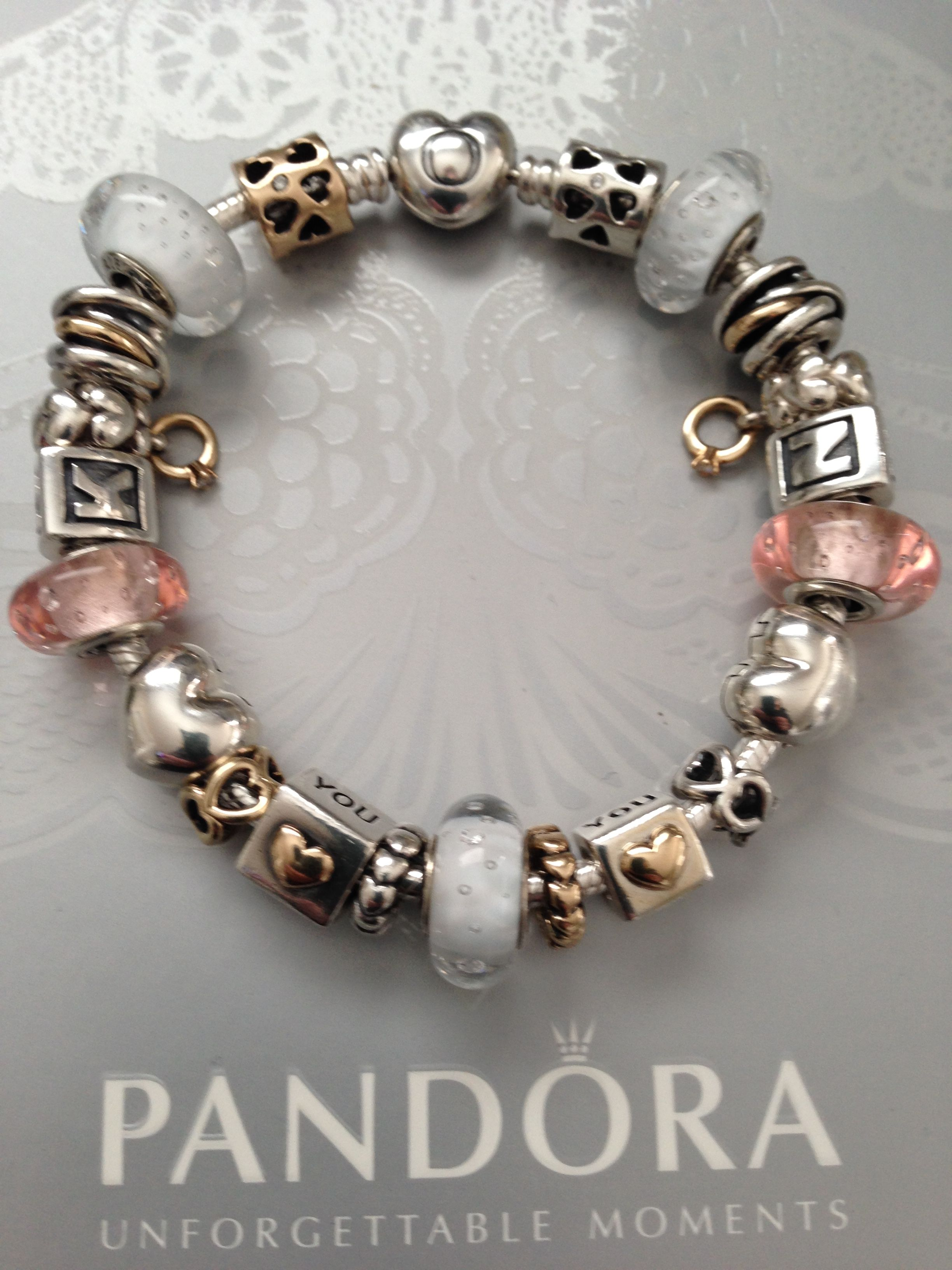 my first glamorous girls charm bracelet pandora the gamer