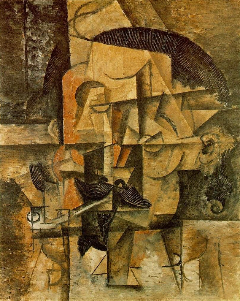 The Poet 1912 by Pablo Picasso | Art of Pablo PICASSO ...