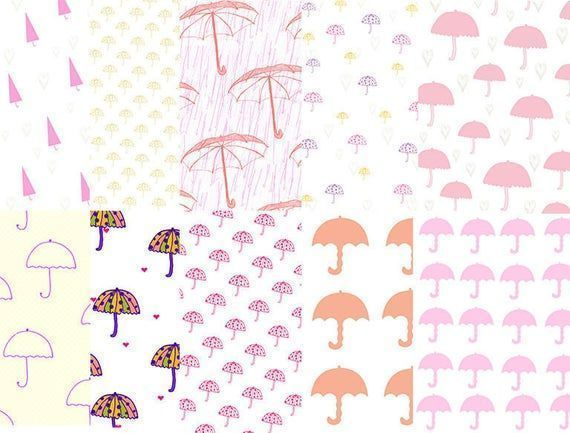 Cute umbrella digital papers, umbrellas texture, pink cute umbrella backgrounds,... - #Backgrounds #Cute #Digital #papers #pink #texture #umbrella #umbrellas #cuteumbrellas