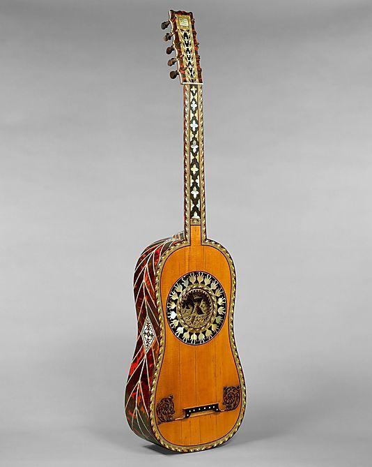 1697 Guitarra Francesa En El Museo Metropolitano De Arte Nueva