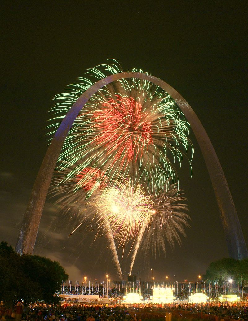 St. Louis, MO and Fireworks - Marty Koch Photo | Missouri - My Home ...