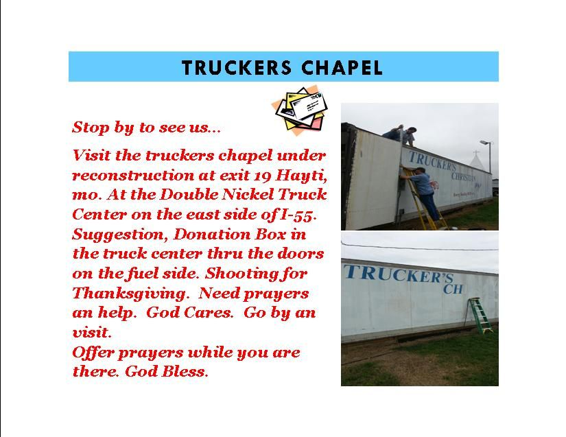 TRUCKERSCHAPEL_zps54f9cc30.jpg Photo:  This Photo was uploaded by Carolyn_Dickerson. Find other TRUCKERSCHAPEL_zps54f9cc30.jpg pictures and photos or upl...