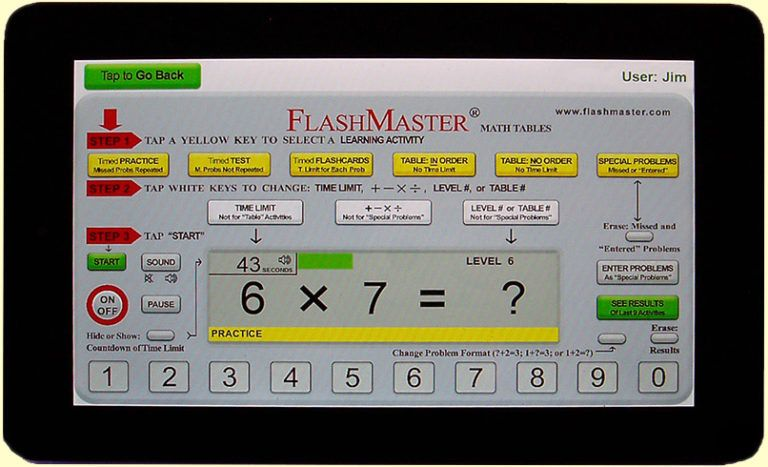 Free math facts app math flash cards math facts math