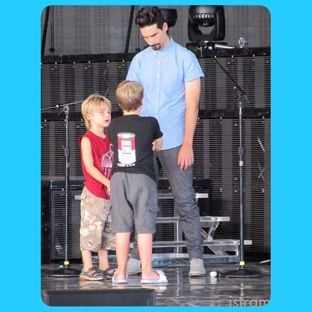 Kevin with Mason & Baylee