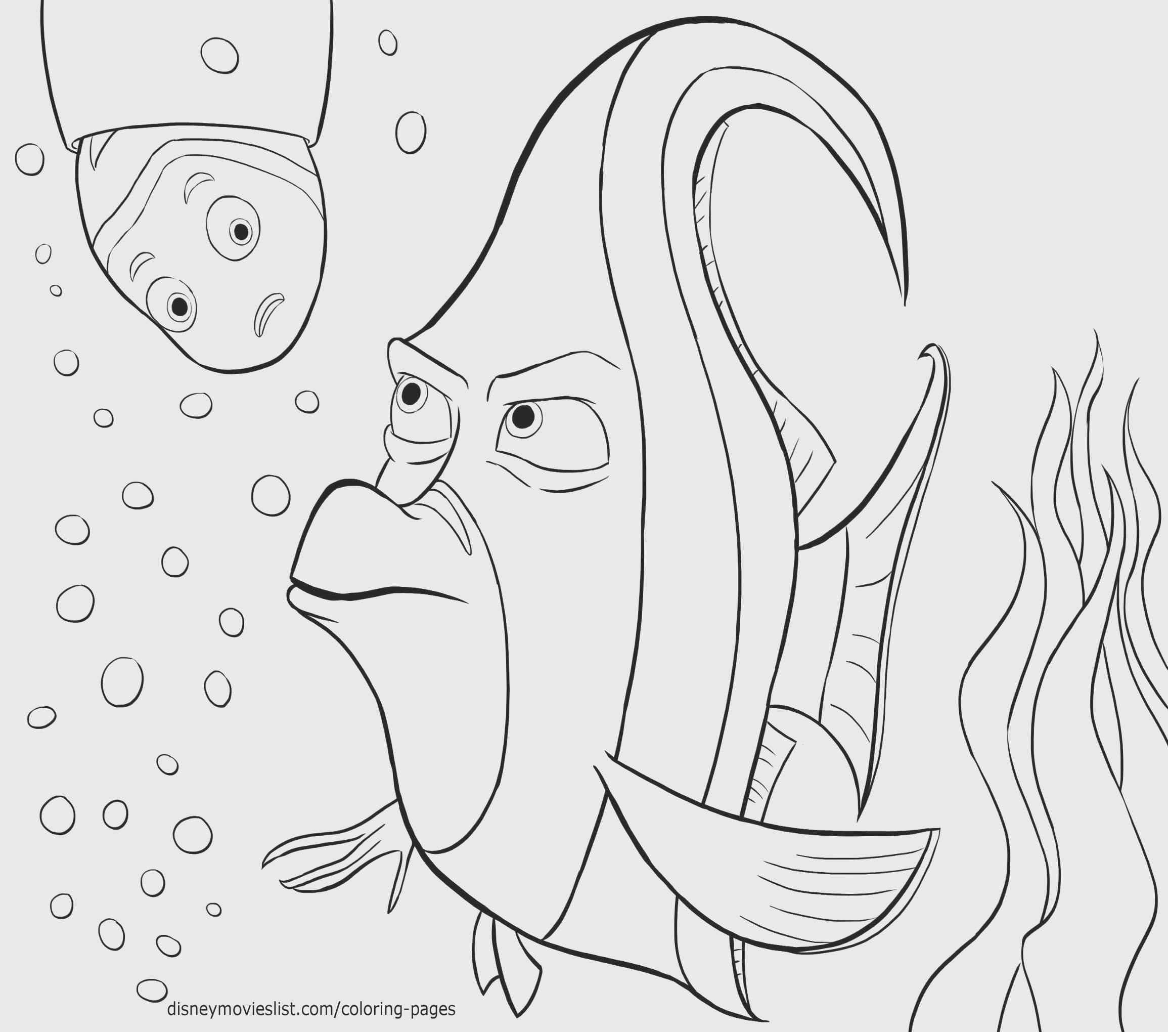 Finding Nemo Printable Coloring Pages Fresh Finding Dory Coloring