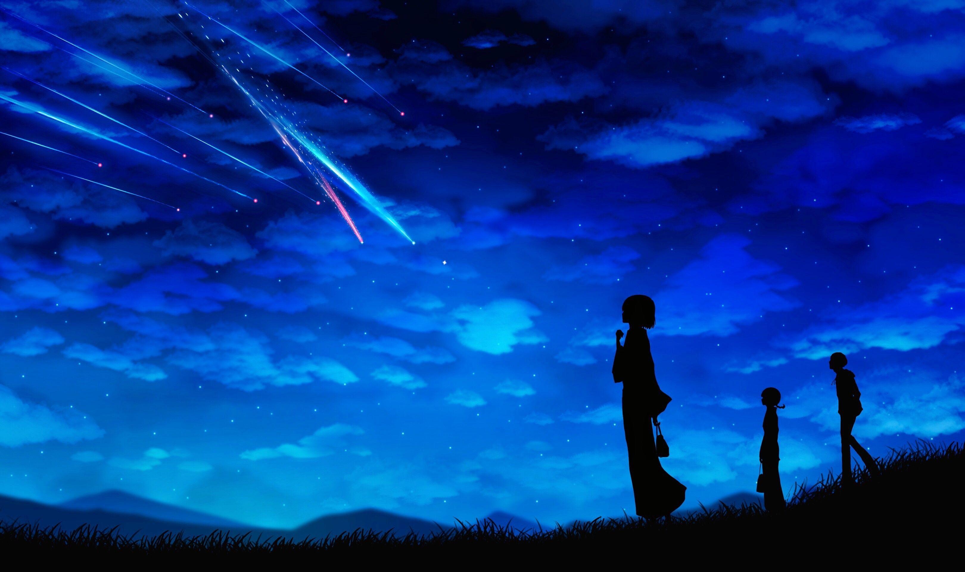 Landscape Night Anime