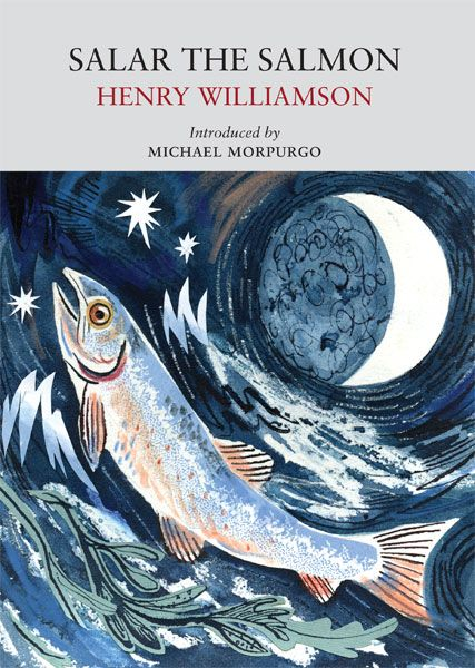 """Salar the Salmon"" by Henry Williamson. Cover illustration by Mark Hearld"
