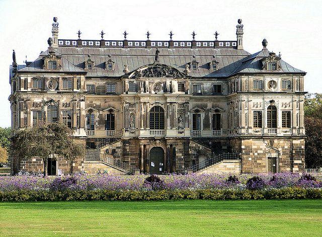Dresden Palais Im Grossen Garten 1680 Stately Home Castle House Mansions