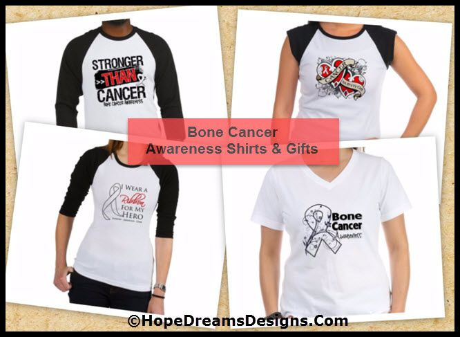 Shop Bone Cancer Awareness Ribbon Shirts and Gifts by http://hopedreamsdesigns.com/bone-cancer-awareness-ribbon-shirts-and-gifts/
