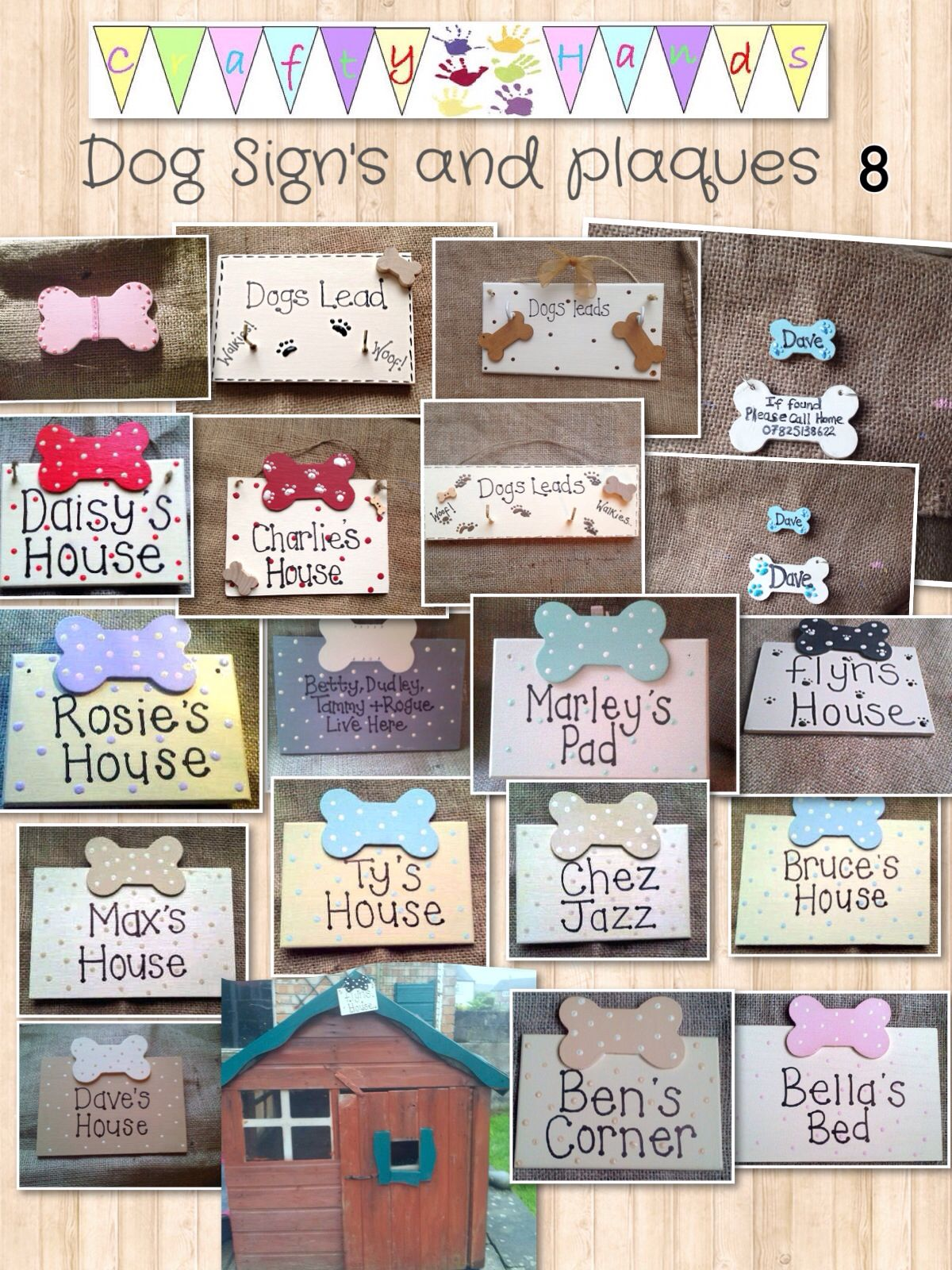 Dog House Signs And Plaques Personalised Dog Gifts Https M