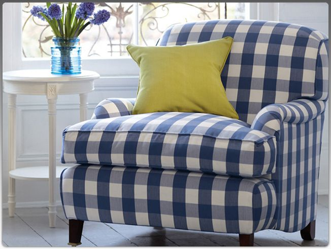 Lovely Chair For The Home Romo Fabrics Plaid Chair