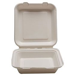 Bagasse Clamshells Food Containers Eco Friendly And Compostable