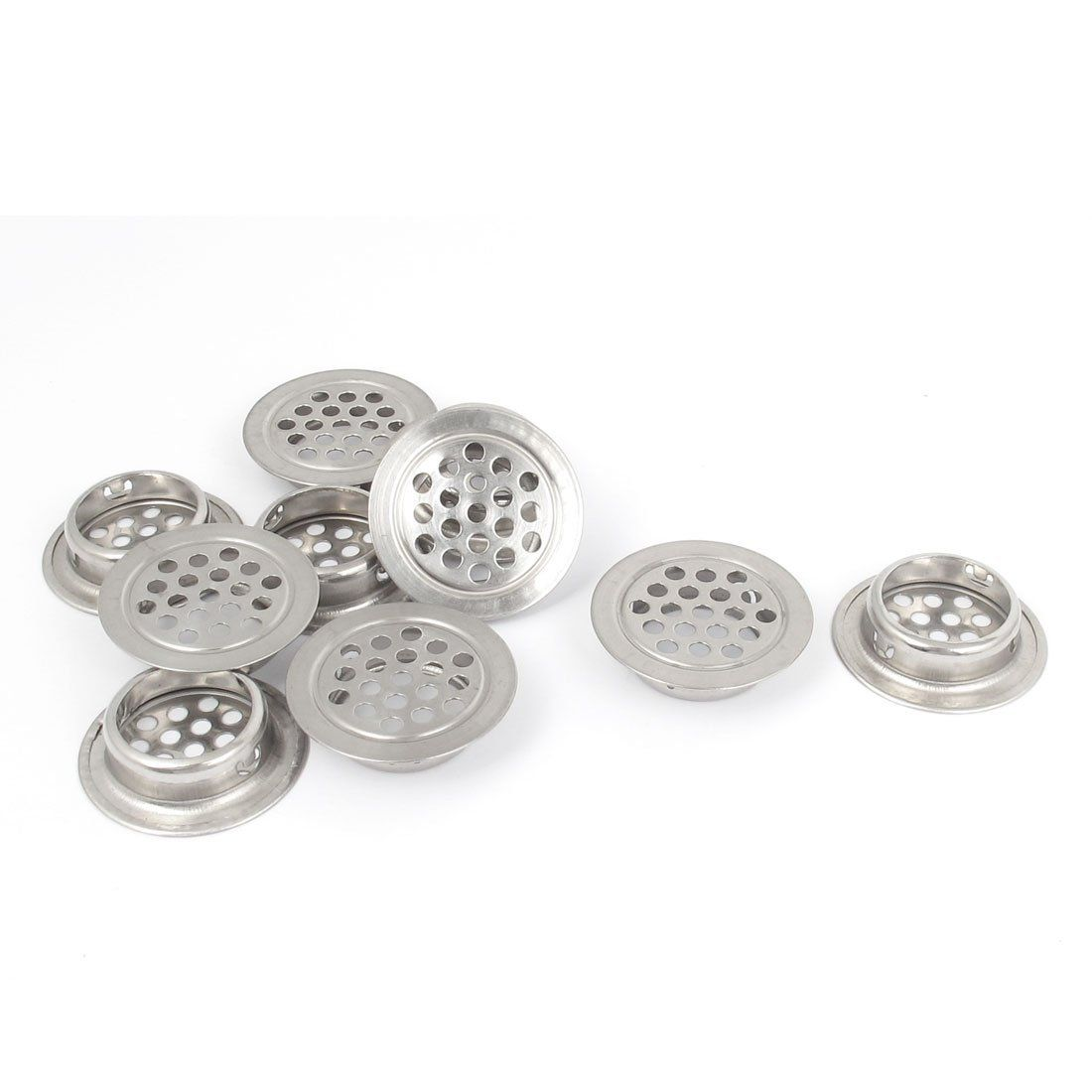 Perforated Mesh Air Vents Ventilation Louvers 25mm Bottom Dia 10pcs * Check out this great product.