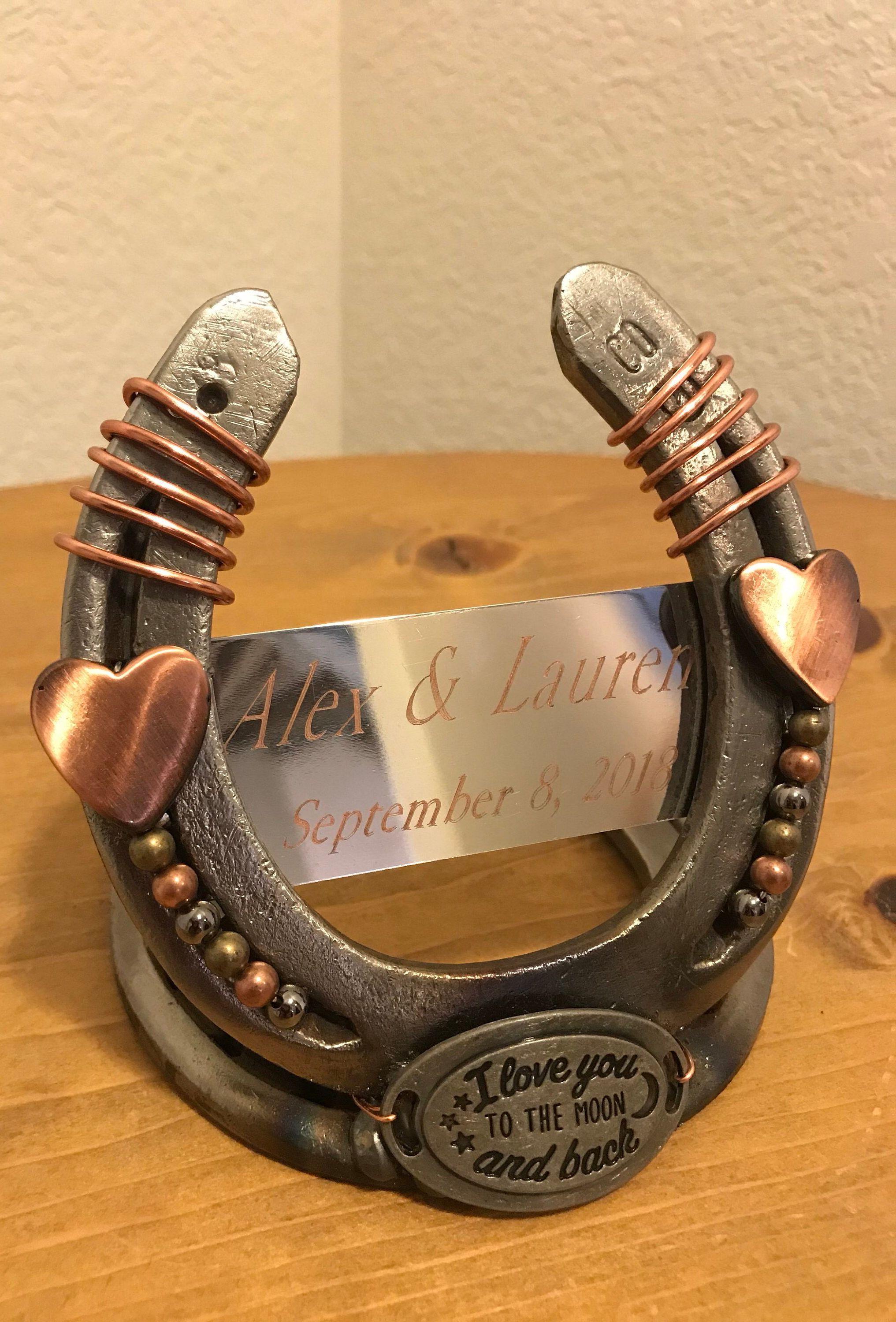 Wedding Gift Decorative Horseshoe Gift For Couple Good Luck