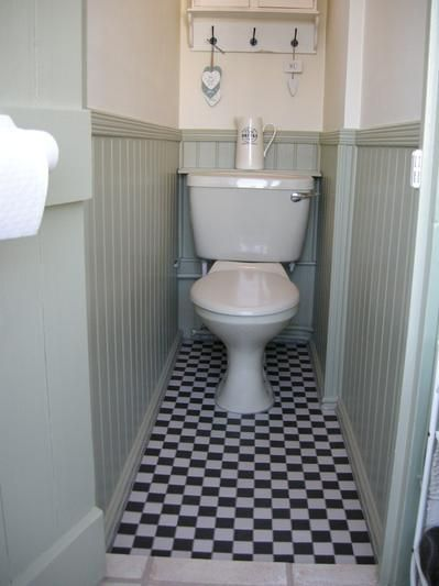 Victorian Black & White Chequer | Bathroom Inspiration | Pinterest ...