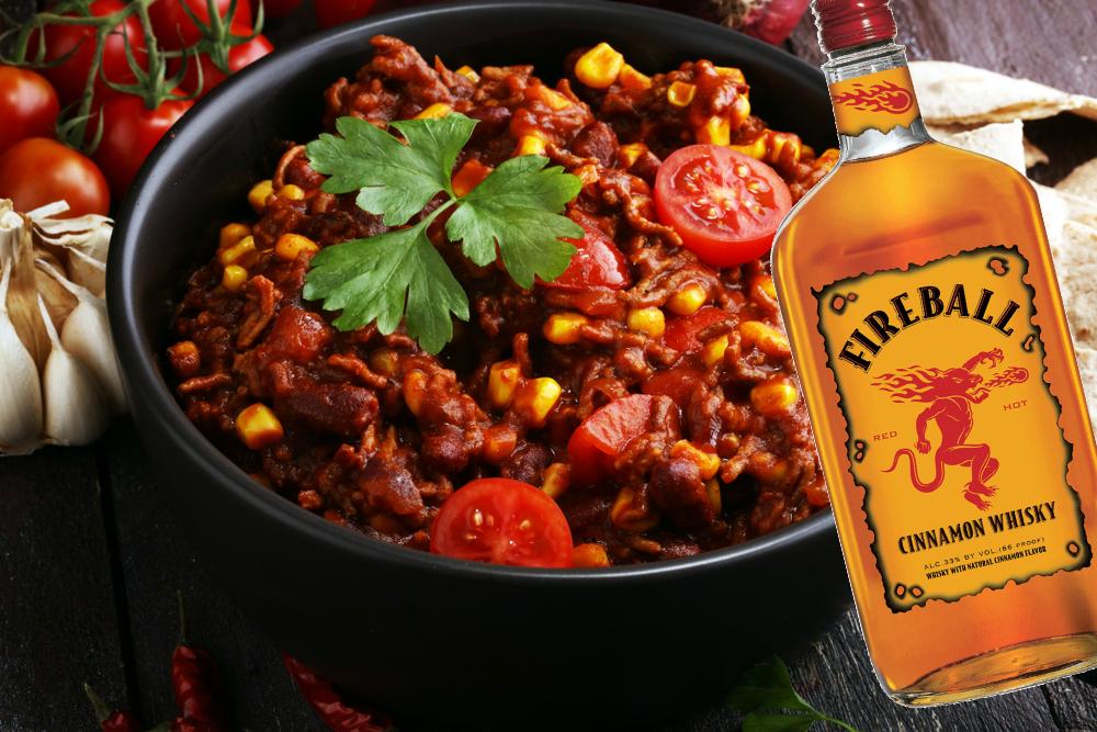Crockpot Fireball Chili Is So Crazy You Just Might Love It Fireball Recipes Fireball Whiskey Recipes Recipes