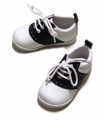 L Amour Baby Toddler Boys Girls Leather Saddle Oxfords