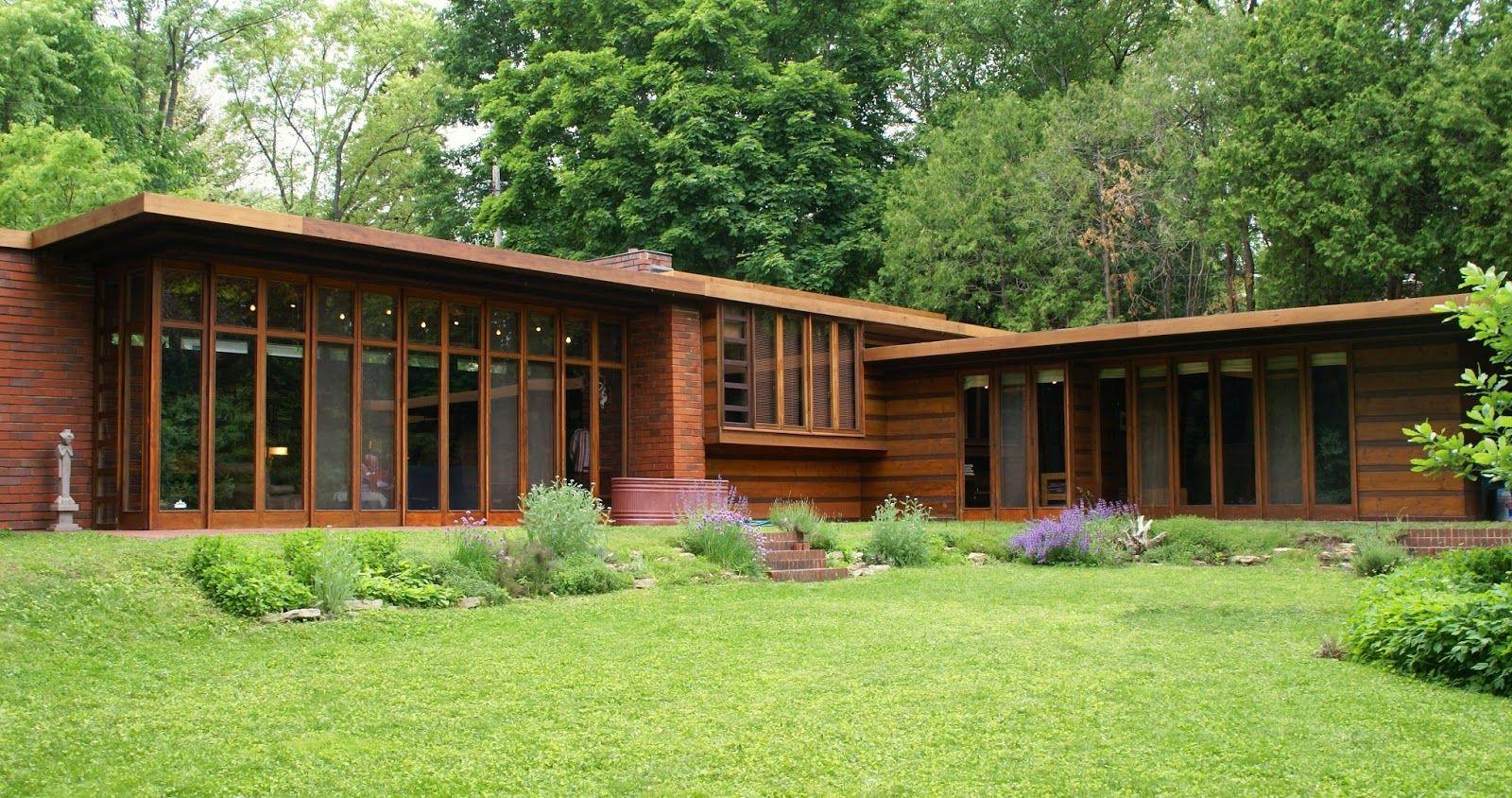 Historia de la arquitectura moderna casa jacobs 1 frank for Arquitectura moderna caracteristicas