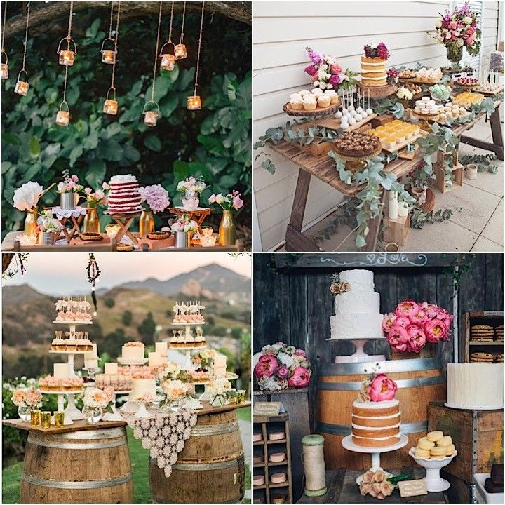 Red Dessert Table For Weddings: Wedding Dessert Table Ideas