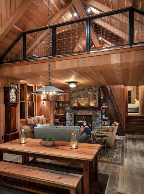 Photo of Rustic Cabin in the Woods – Town & Country Living