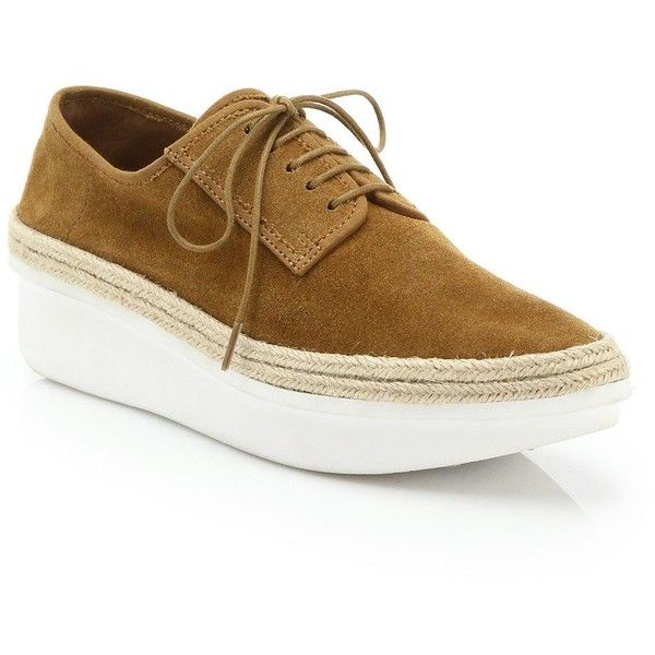 sale with mastercard Derek Lam 10 Crosby Suede Wedge Oxfords wholesale price cheap price cheap prices reliable KGGGtxPm