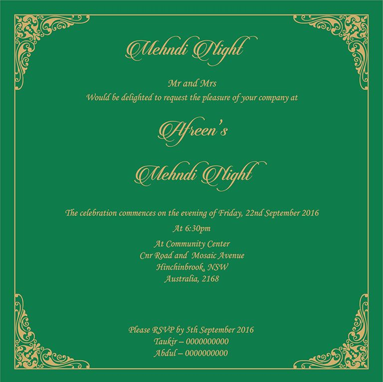 Wedding Invitation Wording For Mehndi Ceremony Mehndi Ceremony Wedding Invitation Wording Wedding Invitation Cards