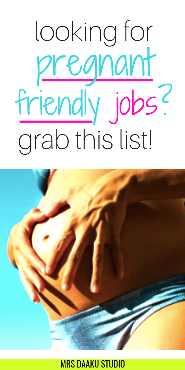 20+ stay at home mom jobs for pregnant women: Make money online TODAY #stayathome