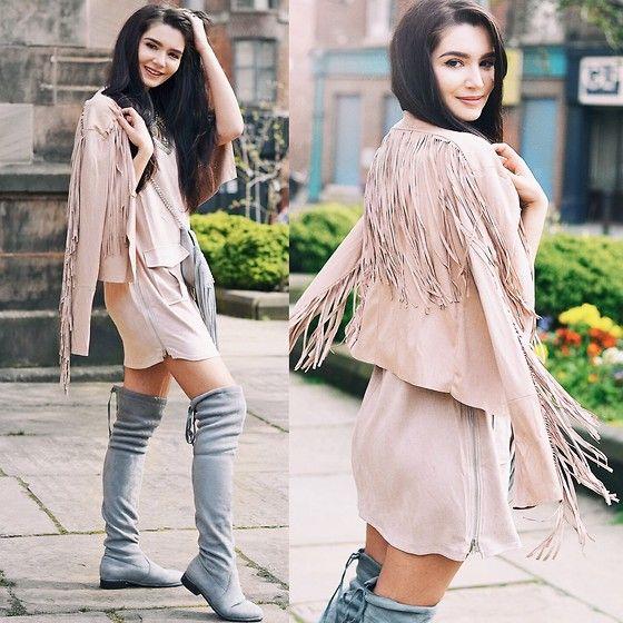 Lolita Mas - Style Moi Fringe Jacket - Dreamcatcher