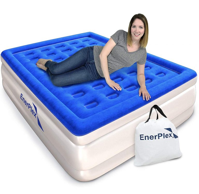 Enerplex Queen Inflatable Bed With Inbuilt Pump Inflatable Bed Blow Up Beds Best Inflatable Bed