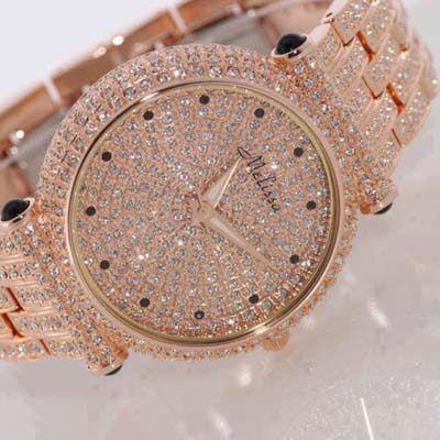 Rolex Watch Women Rose Gold
