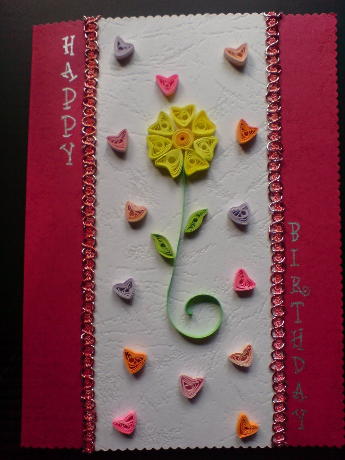 Handmade Birthday Card Ideas Chami Crafts Handmade Greeting