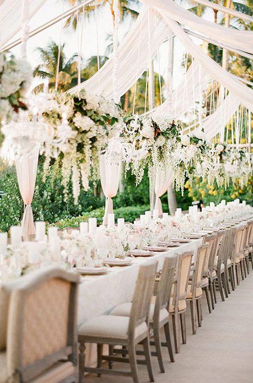Whether An Outdoor Garden Wedding Or Winter Reception