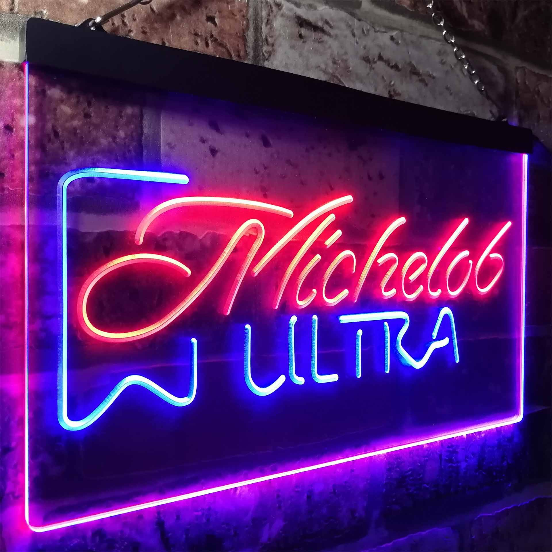 Michelob Ultra Superior Light Beer Novelty LED Neon Sign