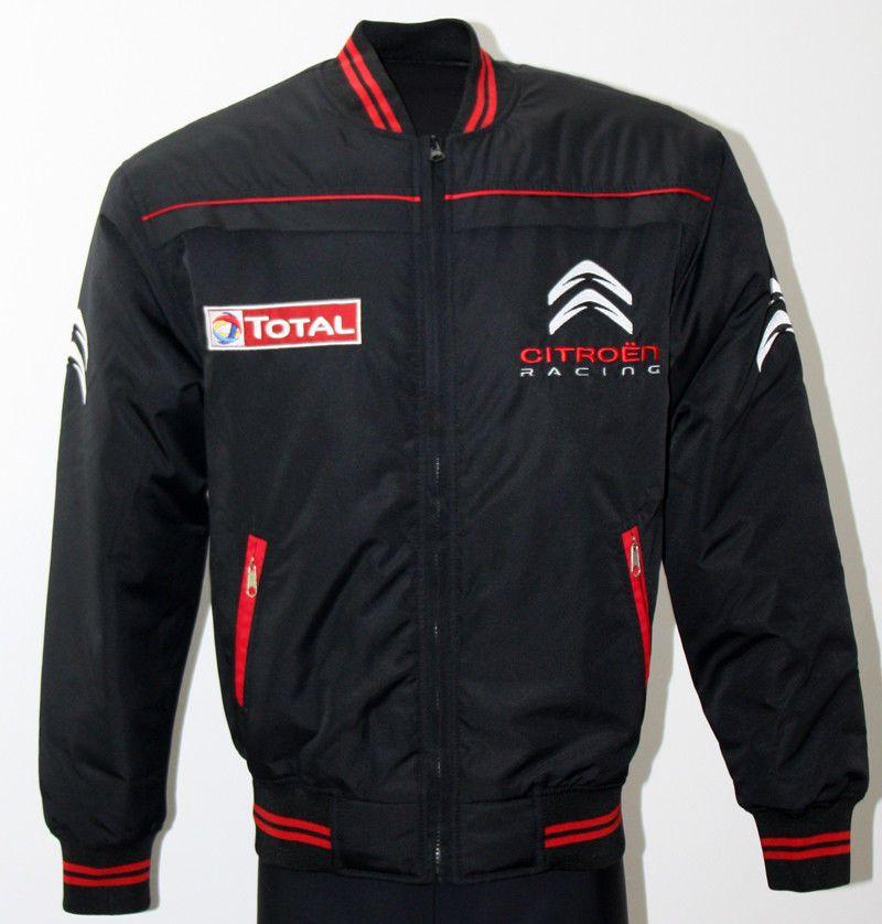 brand new 6e652 8fb79 Citroen Racing Jacke / jacket Gesticktem Logo und Buchstaben ...