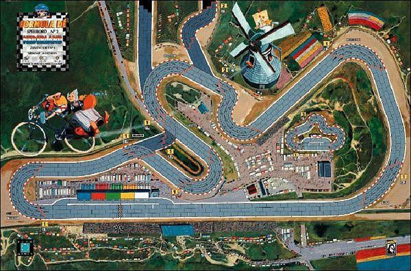 Formula De Circuit 2 Zandvoort 1 Netherlands Out Of Print Fdtrack Slot Car Tracks Slot Racing Slot Car Racing
