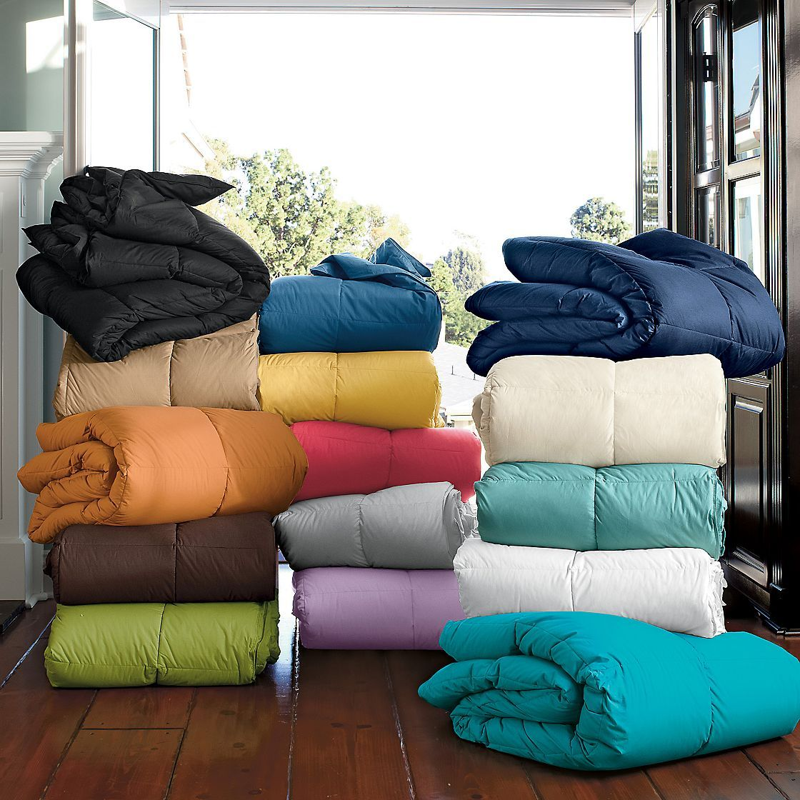 Amazon.com: CoverMates – Canvas Comforter Storage Bag ... |Storing Comforters