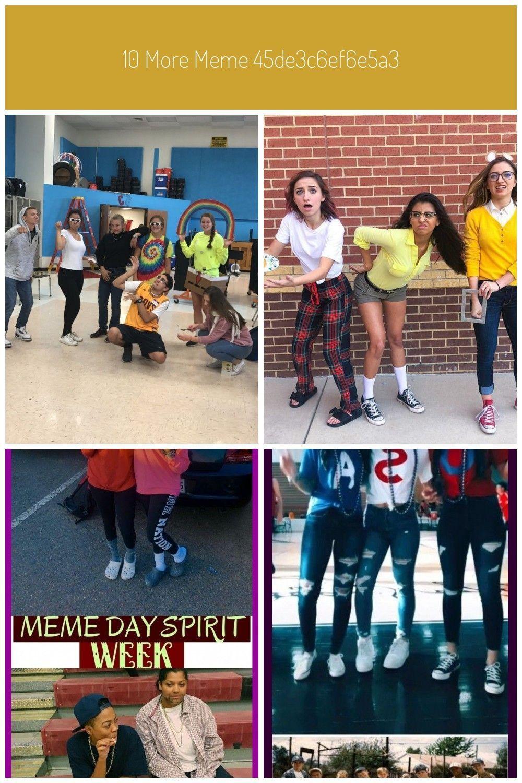 Meme Day Spirit Week Meme Costumes Characterdayspiritweek Meme Day Spirit Week Meme Costumes Charact Spirit Week Outfits Spirit Week Homecoming Spirit Week