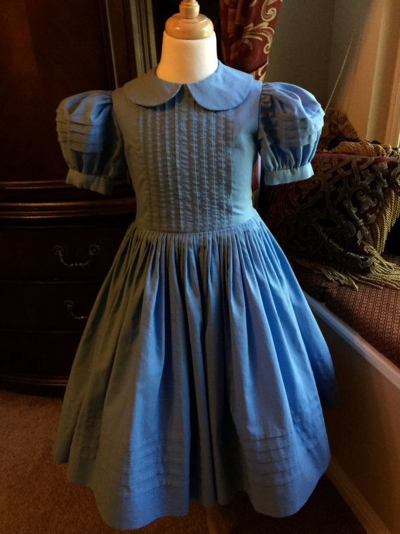 Into The Woods Inspired Dress Little Red Riding Hood Blue Dress